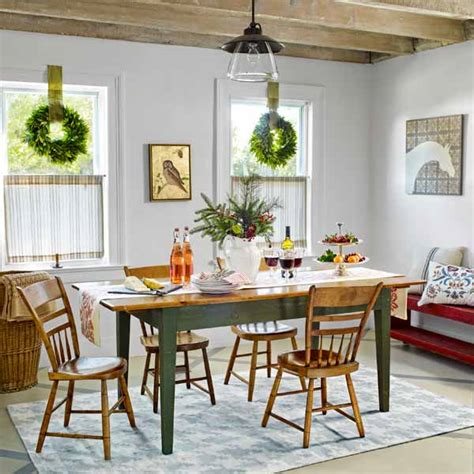 Farmhouse Dining Room Furniture Fit For Family Create A Festive Farmhouse Dining Room This House