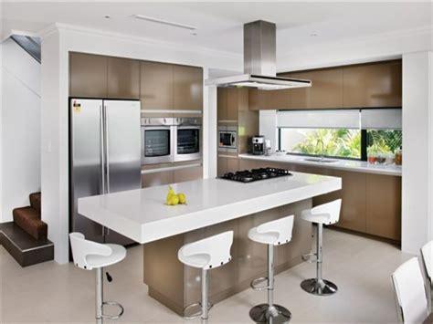 Breathtaking Island Kitchen Design Simple Kitchen With