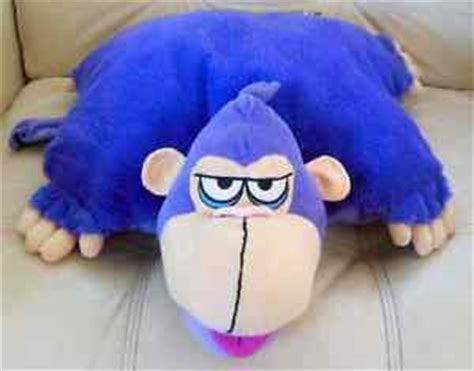 Gorilla Pillow Pet by Monkey Gorilla Pillow Pet Plush Koo Koo Zoo Nap Time