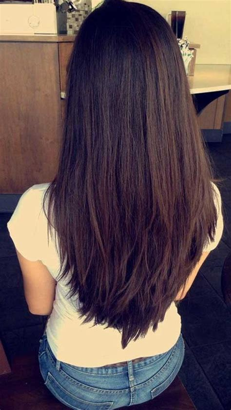 Hairstyles 2017 Back View by 2018 Layered Hairstyles Back View