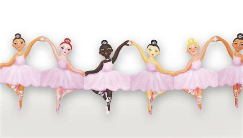 Paper Dolls Chain - ballerina paper doll chain welcome to papercat