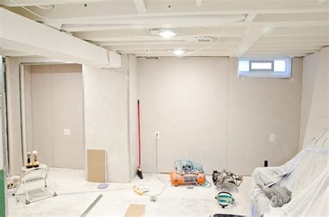 should ceilings be white white painted ceilings and drywall in the basement the