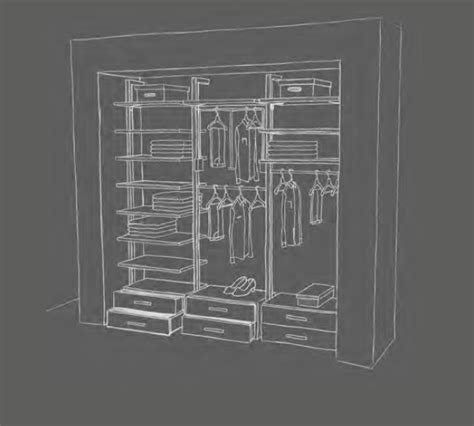 Aluminum Closet System by Closet Solutions 171 Aluminum Glass Cabinet Doors