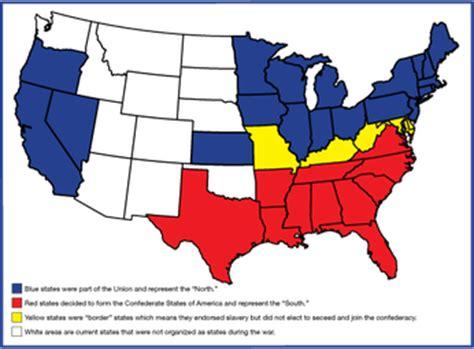 and south civil war map the civil war map