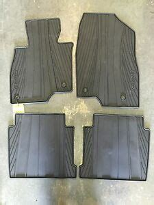 mazda    factory oem  weather floor mats set  exact fit ebay