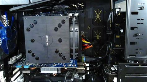Cooler Cpu Fan Bequet Rock Pro3 Dual Fan be rock pro 2 installation at hitchlegion