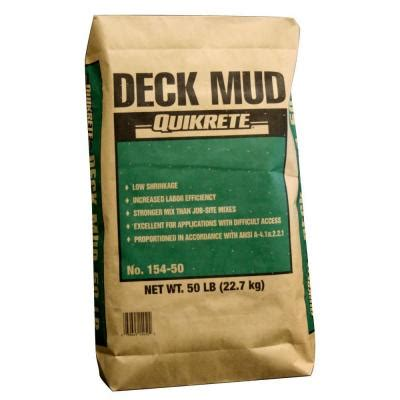 quikrete 50 lb deck mud 154855 on popscreen