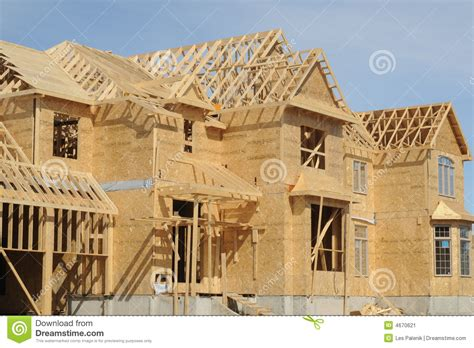 house construction stock image image 4670621