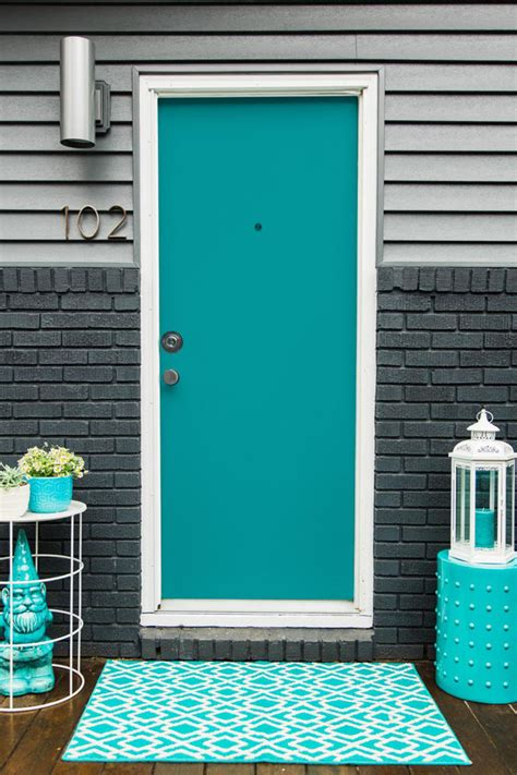 turquoise and blue front doors with paint colors house of turquoise