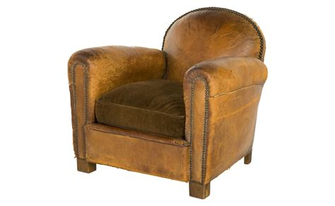 vintage leather club chair jayson home