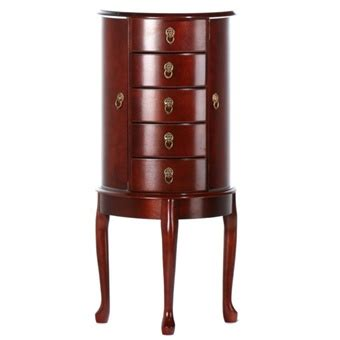 bombay jewelry armoire large cherry queen anne bombay jewelry armoire