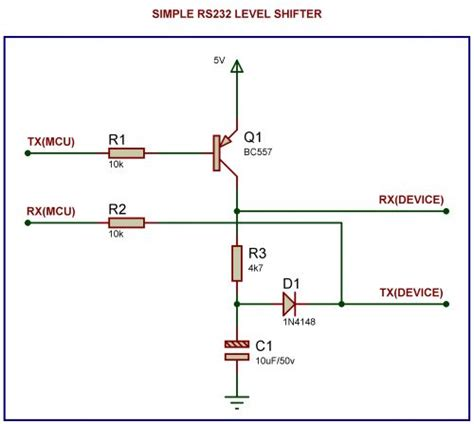 pull up resistor rs232 rs232 why are there so many resistors in a typical schematic electrical engineering stack