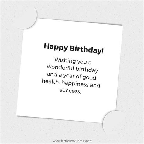 Formal Birthday Quotes Following Protocol Formal Birthday Wishes