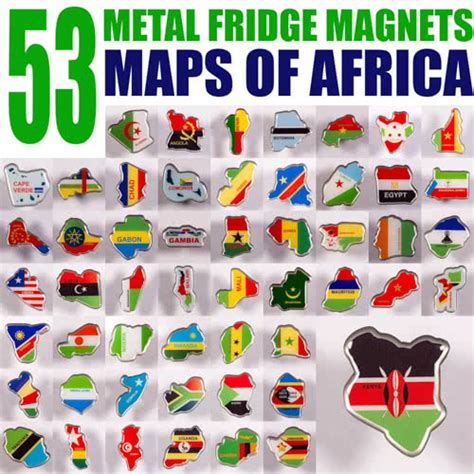 flags of the world magnets metal fridge magnet set of 53 metal magnets all