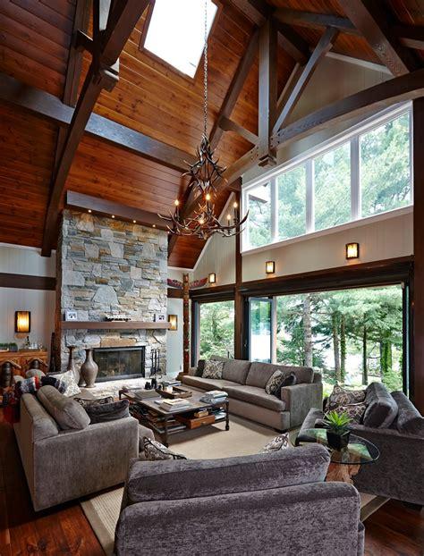 ceiling ls for living room rustic vaulted ceiling living room www pixshark com