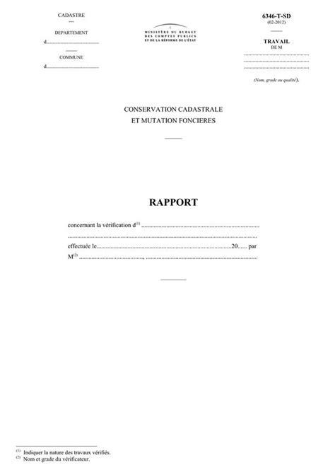 ANNEXE - CAD - Conservation cadastrale et mutation foncières