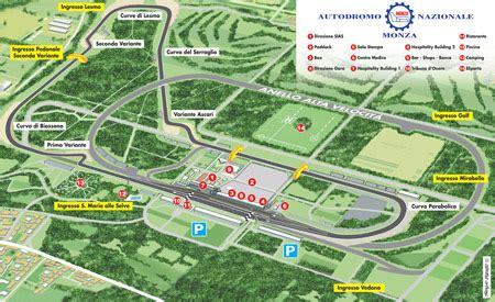 Autodromo Di Monza Ingresso Vedano by Gran Premio Di Monza Scopriamo Il Tracciato Mondowroom