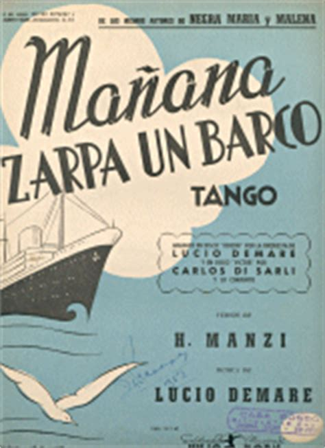 ma 241 ana zarpa un barco tango 1942 - Un Barco Zarpa A Las 10am
