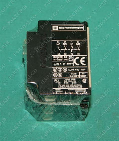 Contact Block Schneider Telemecanique La1 Dn22 019632 telemecanique la1 dn22 auxiliary contact block schneider
