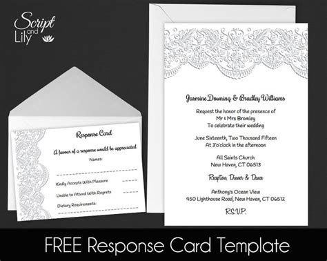 5x7 Card Template For Mac by 17 Best Ideas About Lace Invitations On