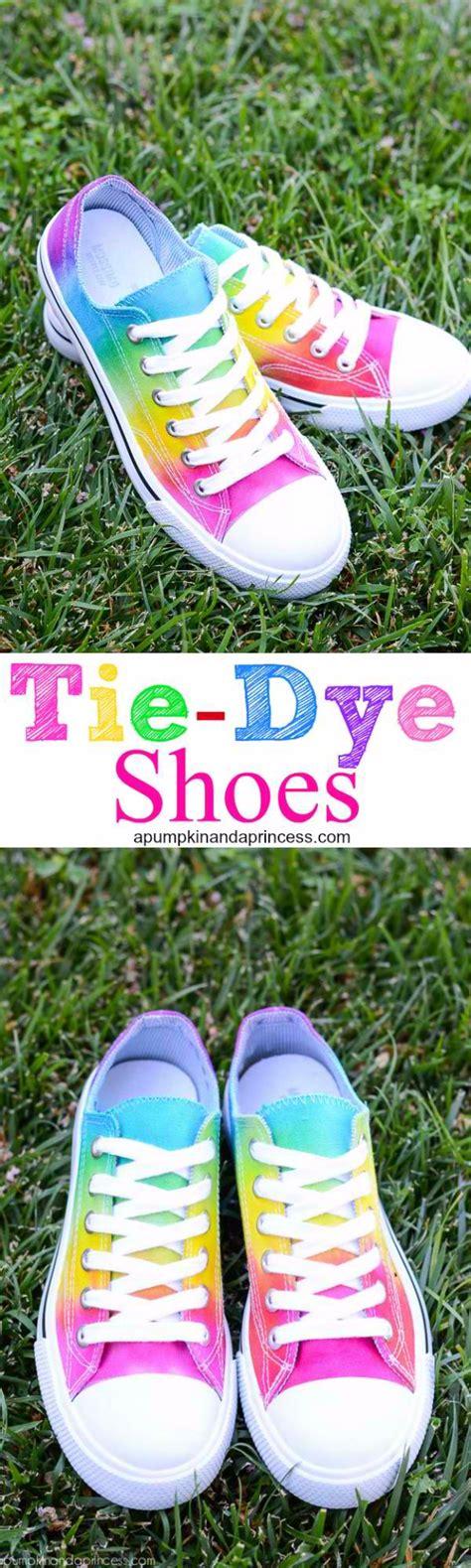 tie dye shoes diy 36 fabulous shoe makeovers anyone can do