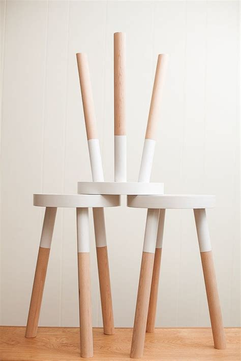What To Give A With Stools by Kitchen You Could Give Some Yard Sale Stools A Diy Paint