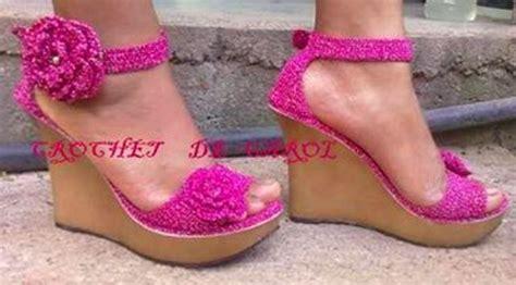 Sepatu Qupid sandalia tejidas a mano dise 209 os exclusivos zapatos
