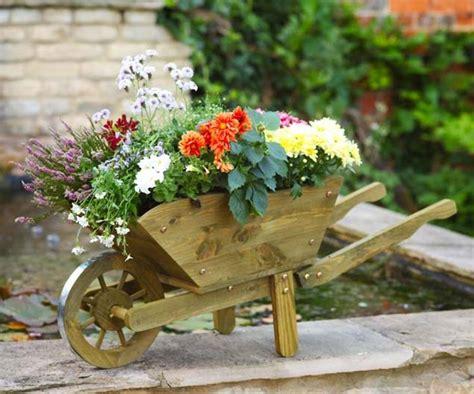Woodland Planter by Woodland Wheelbarrow Flower Planter Large By Garden