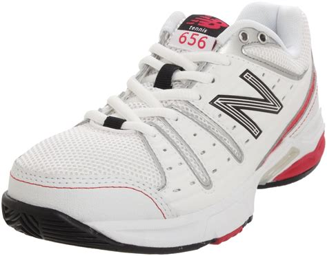 new balance tennis shoes new balance new balance womens wc656 tennis shoe in white
