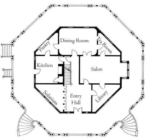 octagonal house plans octagon house joseph pell lombardi architect