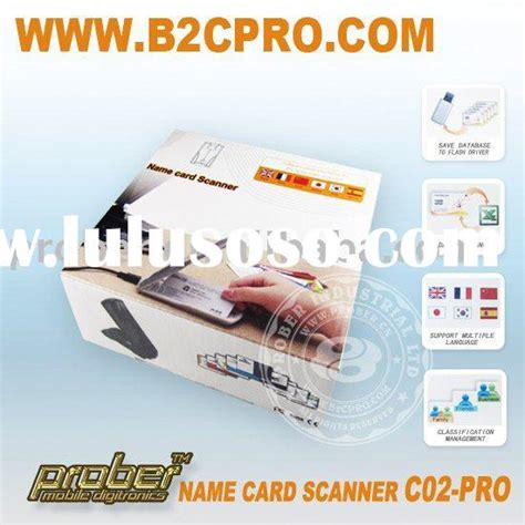 business card scanner and organizer work business development manager work business
