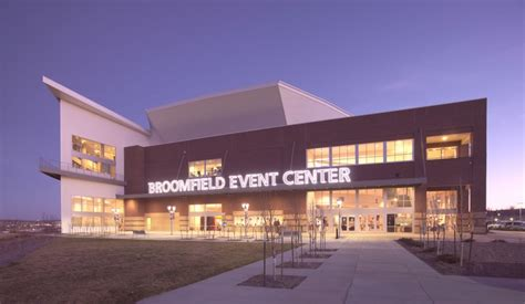 event center layout nations group broomfield events center project