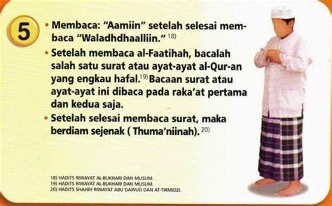 Panduan Shalat Sholat Doa Zikir Dan Sunah Harian tata cara sholat 5 hanif khoiruddin