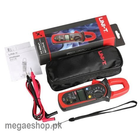 Ac Ukuran 1 Pk uni t ut203 digital cl multimeter dc ac current