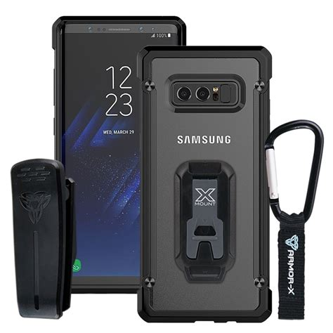 Casing Samsung Galaxy Note 8 And Deadpool Custom samsung galaxy note 8 shockproof rugged belt clip