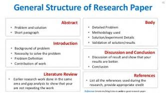 Structure Of A Research Essay by How To Write Research Paper