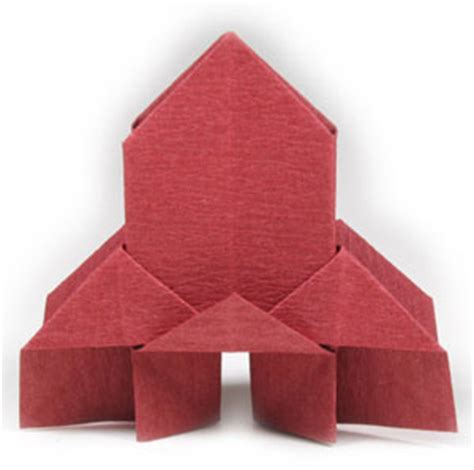Religious Origami - how to make a traditional origami church page 1
