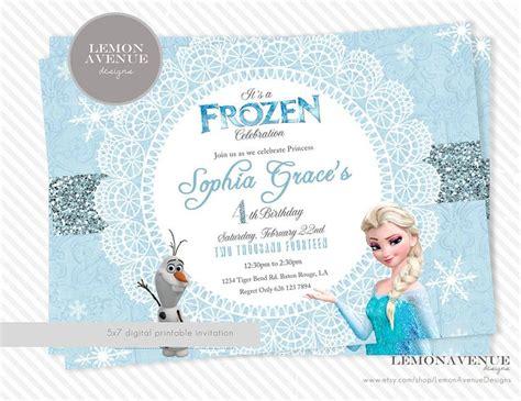 printable frozen invitations uk the 25 best elsa birthday invitations ideas on pinterest
