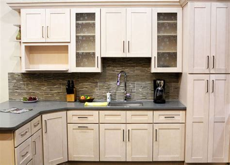Glass Kitchen Cabinet Pulls coline cabinetry contemporary kitchen cabinetry