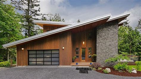 slant roof 1000 images about modern cabin on pinterest stone