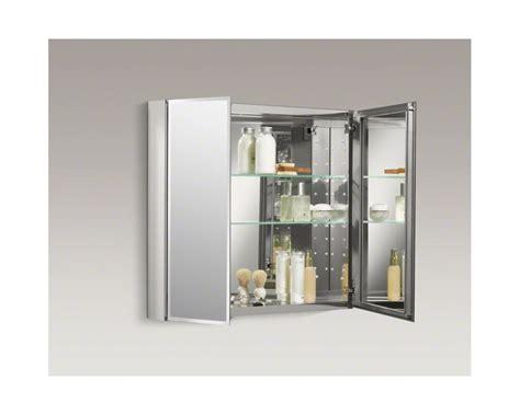 kohler kitchen cabinets kohler frameless medicine cabinets faucet com k cb clc3026fs in silver aluminum by kohler
