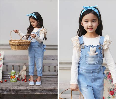 Jumpsuit Denim Supernova Ibu Dan Anak 7 model baju anak perempuan terbaru debusana fashion