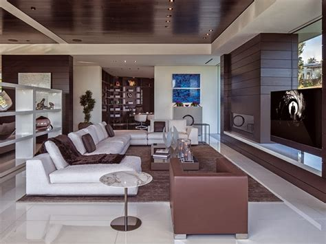 1201 laurel way cliff view luxurious modern mansions in beverly california