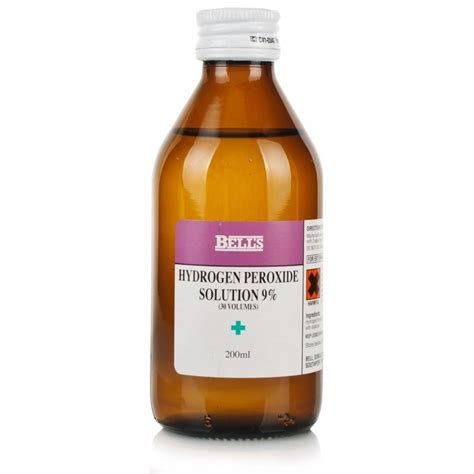 Will Hydrogen Persoxide Cause A Detox Crisis by Hydrogen Peroxide Solution 9 30 Vols Chemist Direct