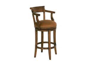 Upholstered Bar Stools With Arms Chaddock Bar And Room Hartford Upholstery Seat Swivel