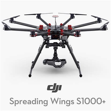 Dji Wings S1000 dji spreading wings s1000 max