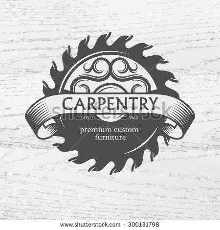 carpenter design element  vintage style  logo label