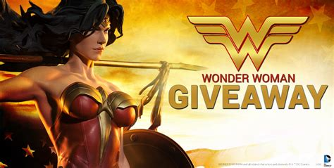 Wonder Woman Giveaway - livestream wonder woman giveaway sideshow collectibles