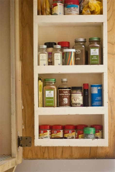 Spice Rack For Inside Cupboard by Spice Rack Inside Cabinet Home