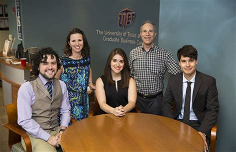 El Paso Mba by Utep Expands B S Mba Program Utep News Archive